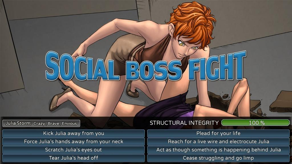 New boss porn game