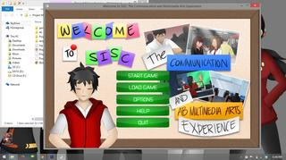 Welcome to SISC: The Communication and Multimedia Arts Experience screenshot 1
