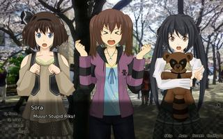 From left, Haruka, Nonami, and Sora.