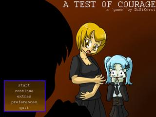 Test of Courage, A screenshot 1