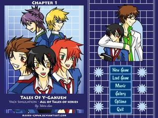 Tales Of Y-Gakuen - Chapter1 screenshot 1