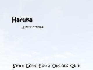 Haruka, winter dreams screenshot 1