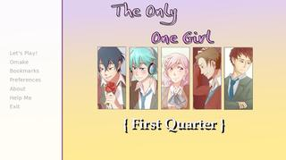 The Only One Girl { First Quarter } screenshot 1